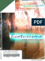 Ecoturismo - Fennell - Cap. Ecoturismo e Ecoturista