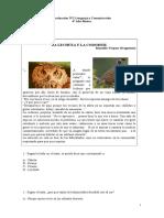 Evaluación N°8 Lenguaje y Comunicación para 4° Año Básico (f)