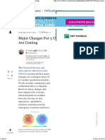 Major Changes for 3 U.S