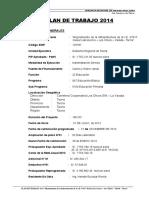 Memoria Descrip Plan de Trabajo Neiser - 2014