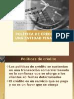 Política de Crédito de Una Entidad Financiera c