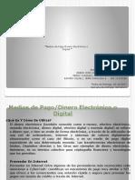 Presentación1 Medios de Pago Dinero Electrónico o Digital