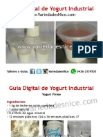 Guia de Yogurt Variedades Nice