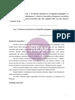 KAUFMANN El Discurso Autoritario en El Dispositivo Pedagógico. La Unicidad Pedagógica, En Paternalismos Pedagógicos