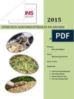 Desechos Agroindustriales en Ancash
