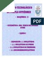 Unidad 2 Nucleotidos