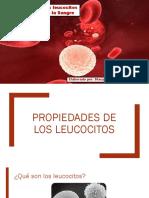 Propiedades de los eritrocitos