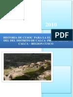 Historia de Cusco Moderno