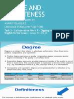 Degree and Definiteness