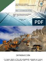 Minería y Los Ingresos Del Estado - 2017 II