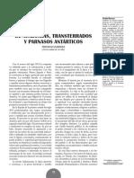 De Academias, Transterrados y Parnasos Antárticos