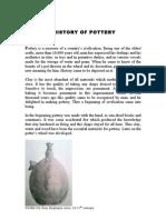 History of Pottery