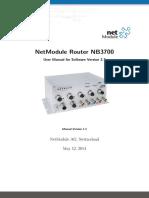 NB3700 Manual 3.7.0.101