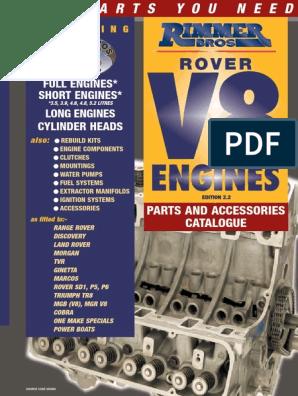 ERR4461 LR RANGE ROVER P38 DRIVE BELT V8.PART