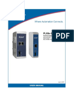 PROSOFT PLX8x EIP 61850 User Manual