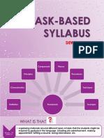 Task Based Syllabus