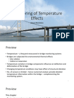 Monitoring of Temperature Effects