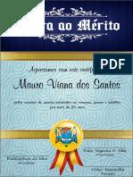 Honra Ao Mérito - Confrade Vicente