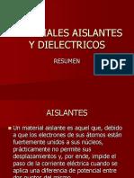 196033693.Resumen Aislantes y Dielectricos