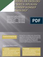 Definisi,Kepentingan Dan Permodelan Ekologi Hewan Serta Aplikasi
