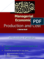 EM 8 Production and Cost