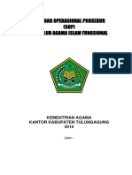 Standar Operasional Prosedur 2016