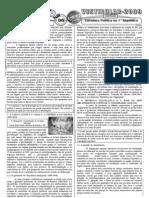 História do Brasil - Pré-Vestibular Impacto - Estrutura Política na 1ª República