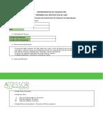 Instrumento de Evaluación Gas Pto Montt