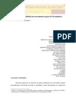 [GUILLEN] Ancestralidade e Oralidade Nos Movimentos Negros de Pernambuco