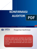 Konfirmasi Audit Dan Laporan Audit