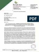 Invitation Ltr - Mr. Arun