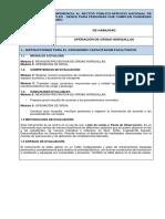 Instrumento Evaluacion HABILIDAD Grua Osorno