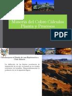 Clase 8° Cálculos Procesos Mineros Metalurgicos Cobre