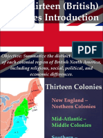 thirteen colonies intro