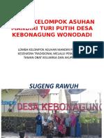 Profil Kelompok Asuhan Mandiri Turi Putih Desa Kebonagung
