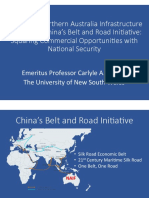 Thayer, Australia's Northern Australia Infrastructure Fund and China's Belt and Road