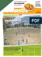 Perú, pasión en la cancha