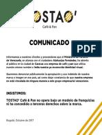 TOSTAO Comunicado Rev