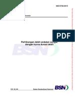 SNI 6738-2015 Perhitungan debit andalan dengan kurva durasi debit.pdf