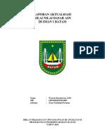 Laporan aktualisasi Wawan Kurniawan, S.pd