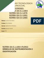 Resúmenes Norma Isa 5.1 5.2 5.4 5.5