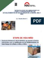 PONENCIA CRITERIOS CERTIFICACION