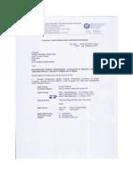 Surat Panggilan Proelt