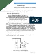 EXPERIMENTO 03 - Conexion en Paralelo