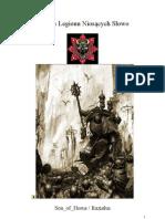36206505 Kodeks Legionu Nioscych Slowo Wersja 4 0