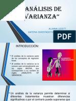 Análisis de Varianza Diapositiva