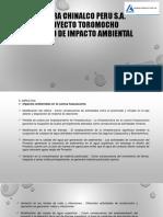 Lb - Impactos Ambiental Toromocho