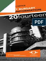 UJ Under and Postgraduat Merit Bursary Brochure