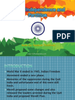 India's Independence and Partition