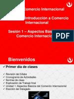 Sesión 1 Comercio Internacional 2015